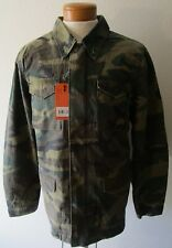 NWT Alpha Industries Mens Dragon Tour Field Coat Jacket S Woodland Camo MSRP$225