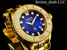 NEW Invicta 47mm Grand Diver Gen II Automatic BLUE Dial 18K Gold IP 300M Watch