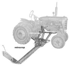 IH International Farmall Super Ai-23 Balanced Sickle Highway Mower Owners Manual