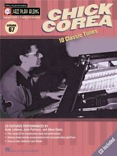 Jazz Play-Along Chick Corea Learn to Saxophone Piano Flute Trumpet MUSIC BOOK CD