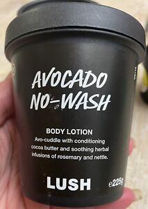 LUSH AVOCADO NO-WASH BODY LOTION 225g Self Preserving