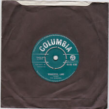 "The Shadows Wonderful Land UK 45 7"" single +Stars Fell On Stockton"