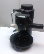 Braun Espresso Master Espresso Maker Made in Italy Black