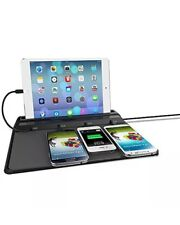 ChargeTech Cell Phone Dock Charging Station Pad W/ Interchangeable Tips Included