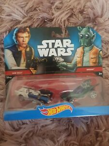 Han Solo Greedo Hot Wheels Star Wars