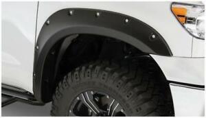 Bushwacker Pocket Style Front Flares 2pc Black 30023-02 for 07-13 Toyota Tundra
