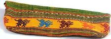 Yellow Cotton Pencil Case Made In Guatemala Fair Trade Gift New Zip Close