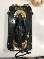VINTAGE UNIQUE ANTIQUE SHIPBOARD SHIPS SUBMARINE TELEPHONE CHRISTMAS