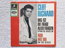 "Vinyl-7""-Cover # only Cover # Cliff Richard # Die Frage aller Fragen # 1964 # vg"