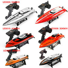 Udirc RC Electric Boat 2.4G Remote Control High Speed Racing Boat Hobby Adult US