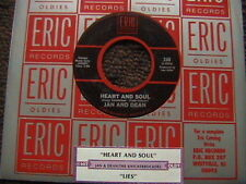 """JAN AND DEAN """"HEART & SOUL"""" / KNICKERBOCKERS """"LIES"""" 7"""" 45 W/ JUKEBOX TITLE STRIP"""