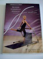 Fluidity Fitness Beginner Intermediate & Advanced 3 On 1 DVD Michelle Austin