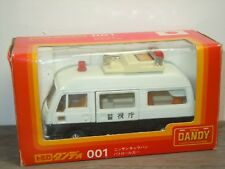 Nissan Caravan Police - Tomica Dandy 001 Japan 1:43 in Box *32293