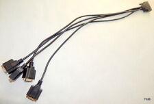 4-Way Male 9-Pin VGA Splitter Cable