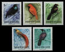 Papua-Neuguinea 1993 - Mi-Nr. 672-676 ** - MNH - Vögel / Birds