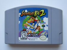 Snowboard Kids 2 Nintendo 64 Authentic Video Game Rare N64 OEM Retro Kids GOOD
