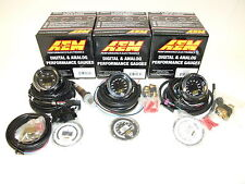 AEM (3 Gauges Combo) - UEGO 4.9LSU WideBand + Oil Temperature + Turbo Boost