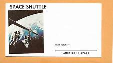 SPACE CHUTTLE TEST FLIGHT AMERICA IN SPACE