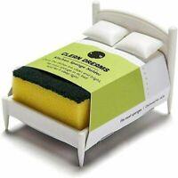 Kitchen Sponge Holder Sponge Washer Bed Shelf Innovative Storage Sink Fun
