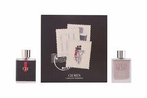 CH by Carolina Herrera Men- 3.4oz Eau de Toilette Spray & AfterShave Lotion RARE
