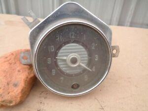 1951 1952 1953 Desoto Dash Clock Geo W Borg Corp Chicago Firedome Powermaster