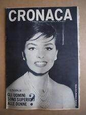 CRONACA n°19 1966 Michele Mercier - Gli uomini superiori a donne?  [D24]