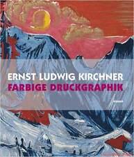 Manuel Ernst Ludwig Kirchner colorée pression graphique au lieu de 34,90 € neuf dans sa boîte superbes photos