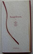 Ausgelesen Roman der letzten Sätze Eichborn Duo 96 Aline Akbari Matthias Meyer
