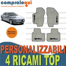 Tappetini Alfa Romeo 156 uni clip - Nero Ago Feltro 4tlg 1997-2007