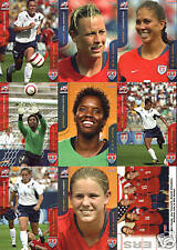 2004 Women Olympic Gold Medal Soccer rookie trading card lot Abby Wambach choice