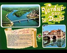 VERDUN-sur-DOUBS (71) RECETTE traditionnelle de la Pochouse ,PONT & Vue aérienne