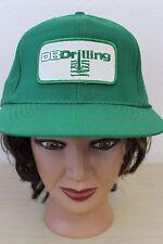 DB Drilling Green Baseball Trucker Cap Hat Snapback Oil Gas Water Wells