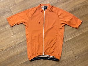 Men's ORNOT House Cycling Jersey Coastal Orange Size Medium