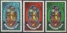 Timbres Religion Noel Rhodésie 217/9 o lot 27622