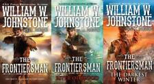 Frontiersman Series Collection Set Books 1-3 by William W Johnstone Brand New