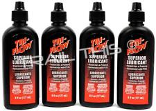 4 - Pack TRI-FLOW Superior Bike Lube Penetrating Teflon/Oil Chain/Hobby 6 oz