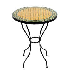 Marokkanischer Mosaiktisch orientalischer Tisch Bistrotisch Gartentisch 60cm Anu