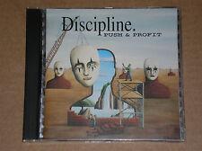 DISCIPLINE - PUSH & PROFIT - CD COME NUOVO (MINT)