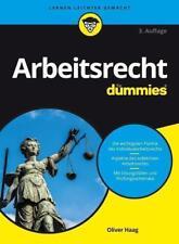 Arbeitsrecht für Dummies von Oliver Haag (2017, Taschenbuch)