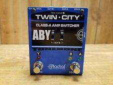 Radial Tonebone Twin City Bones Aby Amp Switcher Pedal
