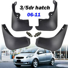 For Toyota Yaris Hatch 2005~2011 Mud Flap Flaps Splash Guards Mudguard 4pcs