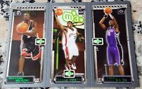 LEBRON JAMES 2003-04 Topps Matrix Triple Rookie Card RC Lakers Wade Bosh MVP $$$