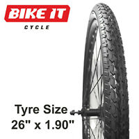 """PRO-AIR COMMUTER TOUR MTB TYRE 26"""" x 1.90 ROAD MOUNTAIN BIKE BICYCLE CYCLE TYRE"""