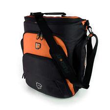 """Fusion F1 Mega Workstation Orange - 17"""" Pro Audio Laptop Backpack Shoulder Bag"""