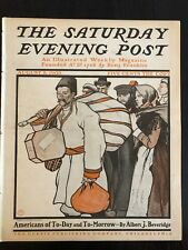 Illustrated  Saturday Evening Post August 8, 1903 Edward Penfield Cover Art