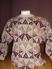 VINTAGE BENETTON SHETLAND WOOL SWEATER JUMPER medium MADE IN ITALY