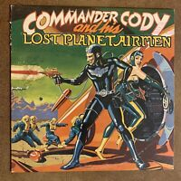 Commander Cody And His Lost Planet Airmen  LP Warner Bros. Records 1975: Promo