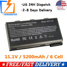 Battery BTY-L74 BTY-L75 For MSI A6200 CR600 CR610 CR620 A5000 CR700 A6000 MS-168