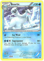 3 x Pokemon Card - Emerging Powers 31/98 - BEARTIC (rare) - NM/Mint