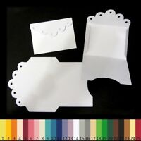 25 Découpes en papier _ MINI ENVELOPPES 7x5,3cm _ Die cut scrapbooking carterie
